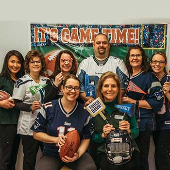 Staff preparing for Super Bowl Sunday